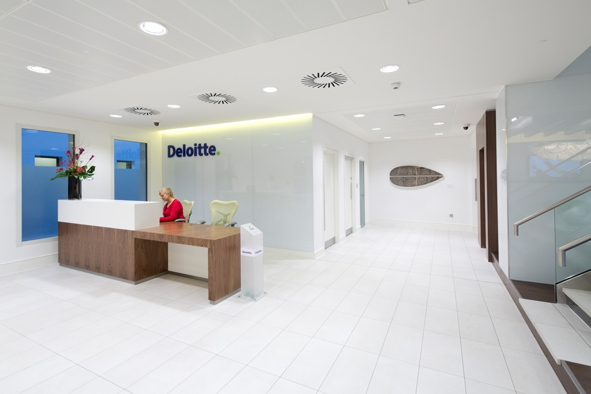 Sharkey Commercial Refit & Refurbishment - Deloitte Offices Interior