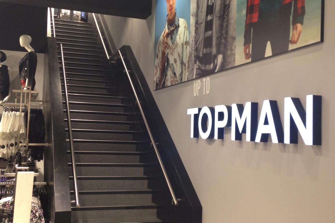 Retail Refit - Topman Interior