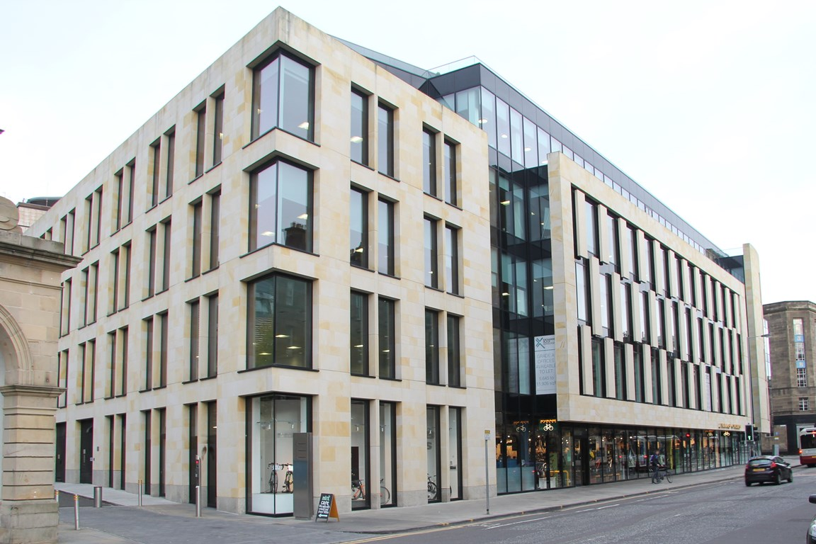 Commercial Fit-out - Blackrock Edinburgh offices exterior